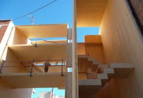 Vivienda-estudio de 4 plantas, Madrid